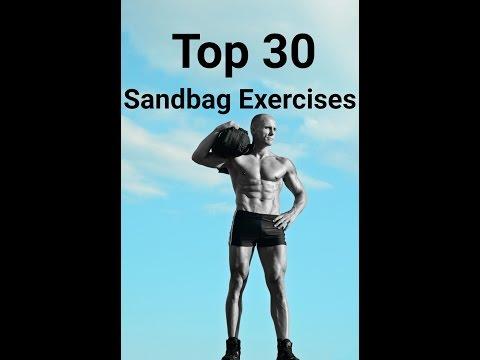 The Best Sandbag Exercises: 30 Sandbag Exercises, Part 1