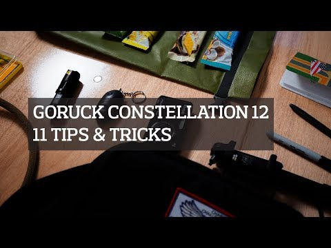 11 Tips for the GORUCK Constellation 12 Urban Survival Event Series