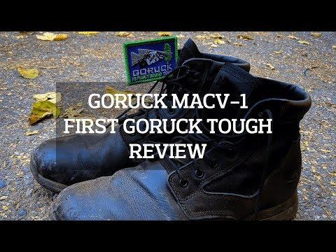 GORUCK MACV-1 Boots First GORUCK Tough Review