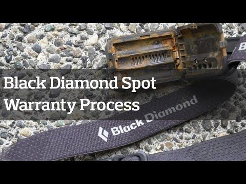 Black Diamond Spot Headlamp Warranty Process (Broke at GORUCK 😅)