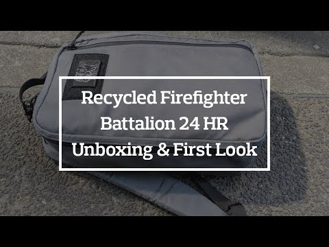Recycled Firefighter Battalion 24 HR Unboxing & First Look