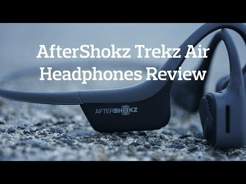 AfterShokz Trekz Air Bone Conduction Headphones Review (Rucking & Running)