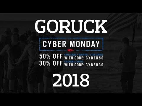 GORUCK Cyber Monday (Cyber Week) Sale 2018