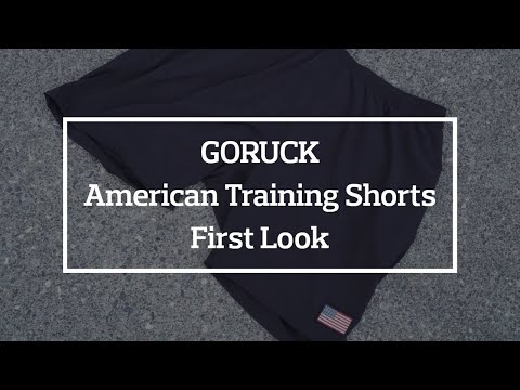 GORUCK American Training Shorts First Look, Thoughts, and Fit