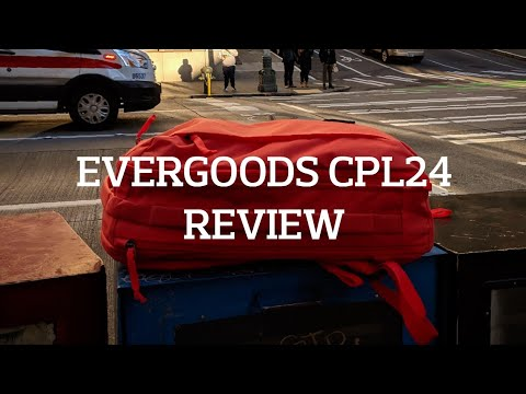 EVERGOODS CPL24 Backpack Review