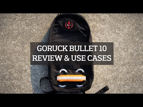 GORUCK Bullet 10 Backpack Review & Our Use Cases
