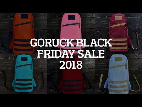 GORUCK Black Friday Sale 2018