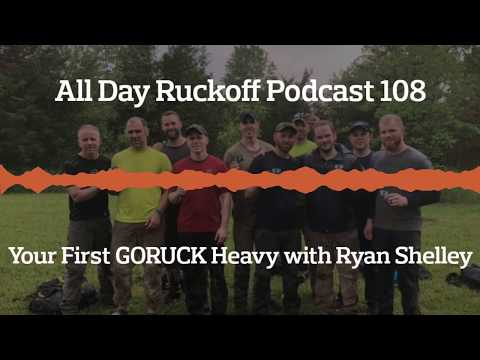 ADR 108: Your First GORUCK Heavy with Ryan Shelley Podcast (Audio Only)
