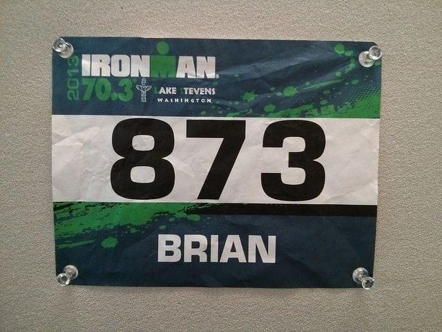 Lake Stevens Half Ironman 2013 Bib
