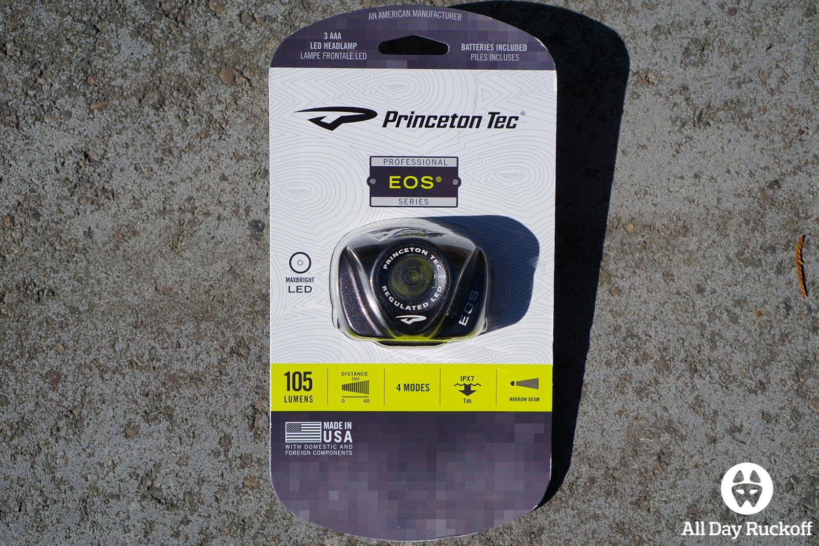 Princeton Tec EOS - Box Front