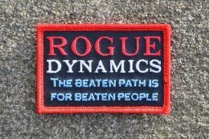 Rogue Motto Patch