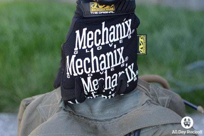 Mechanix Wear Gloves Handle