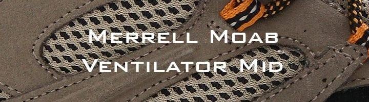 Boots - Merrel Moab Ventilator Mid