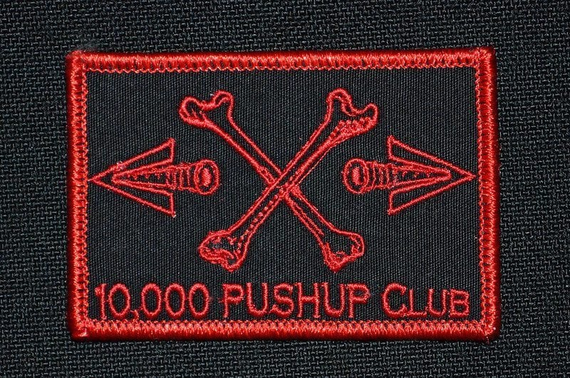 GORUCK 10,000 Push Up Club Patch