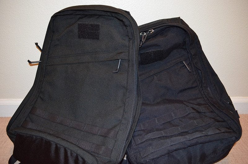 GORUCK GR1 Comparison Front Closeup