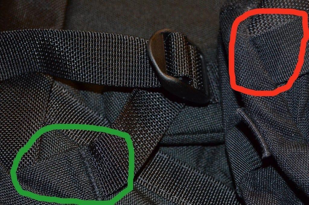 GORUCK GR1 Comparison Straps
