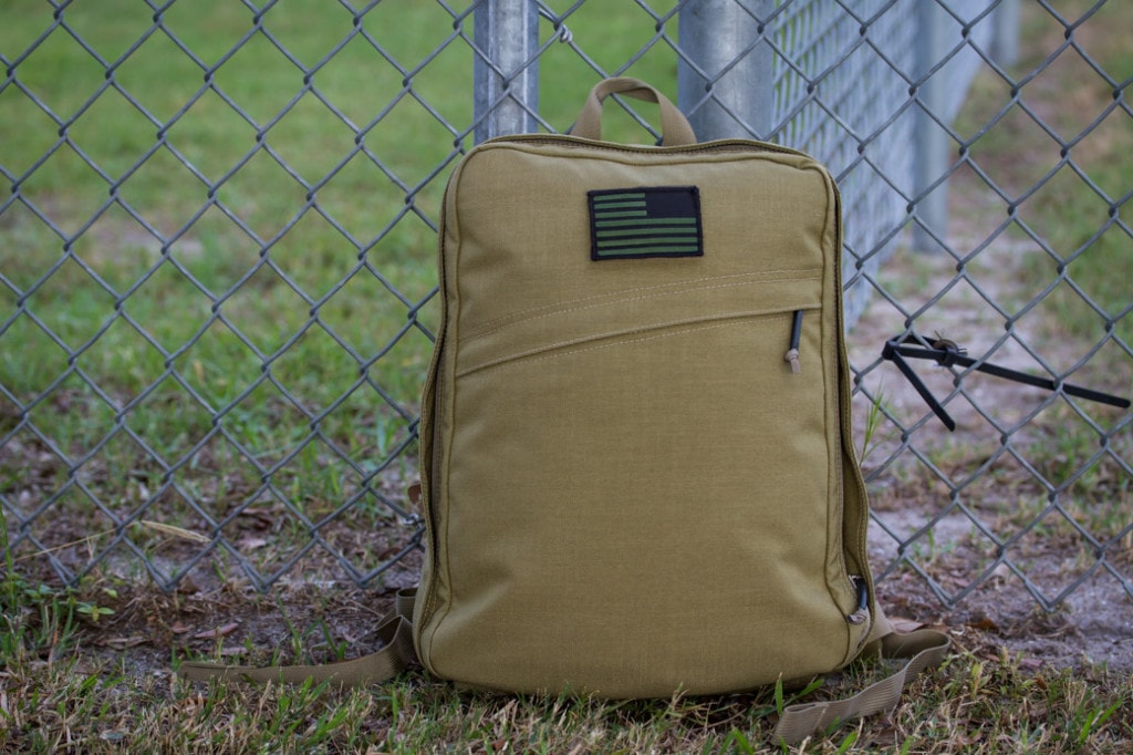 GORUCK SD15 Coyote Front