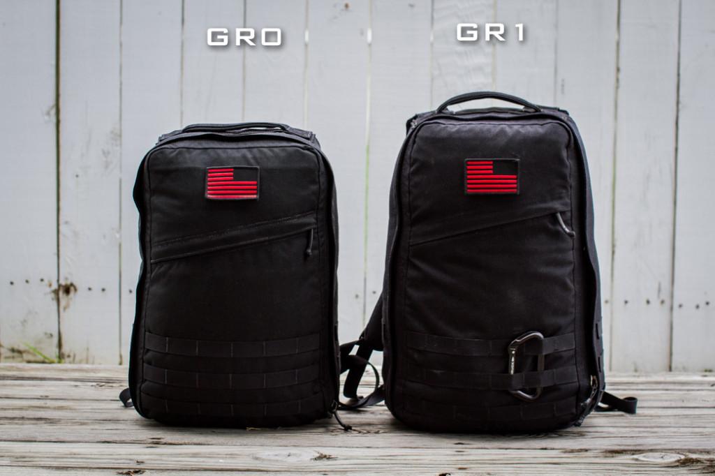 GORUCK GR0 vs GR1
