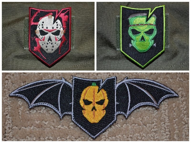 ITS Halloween Patches