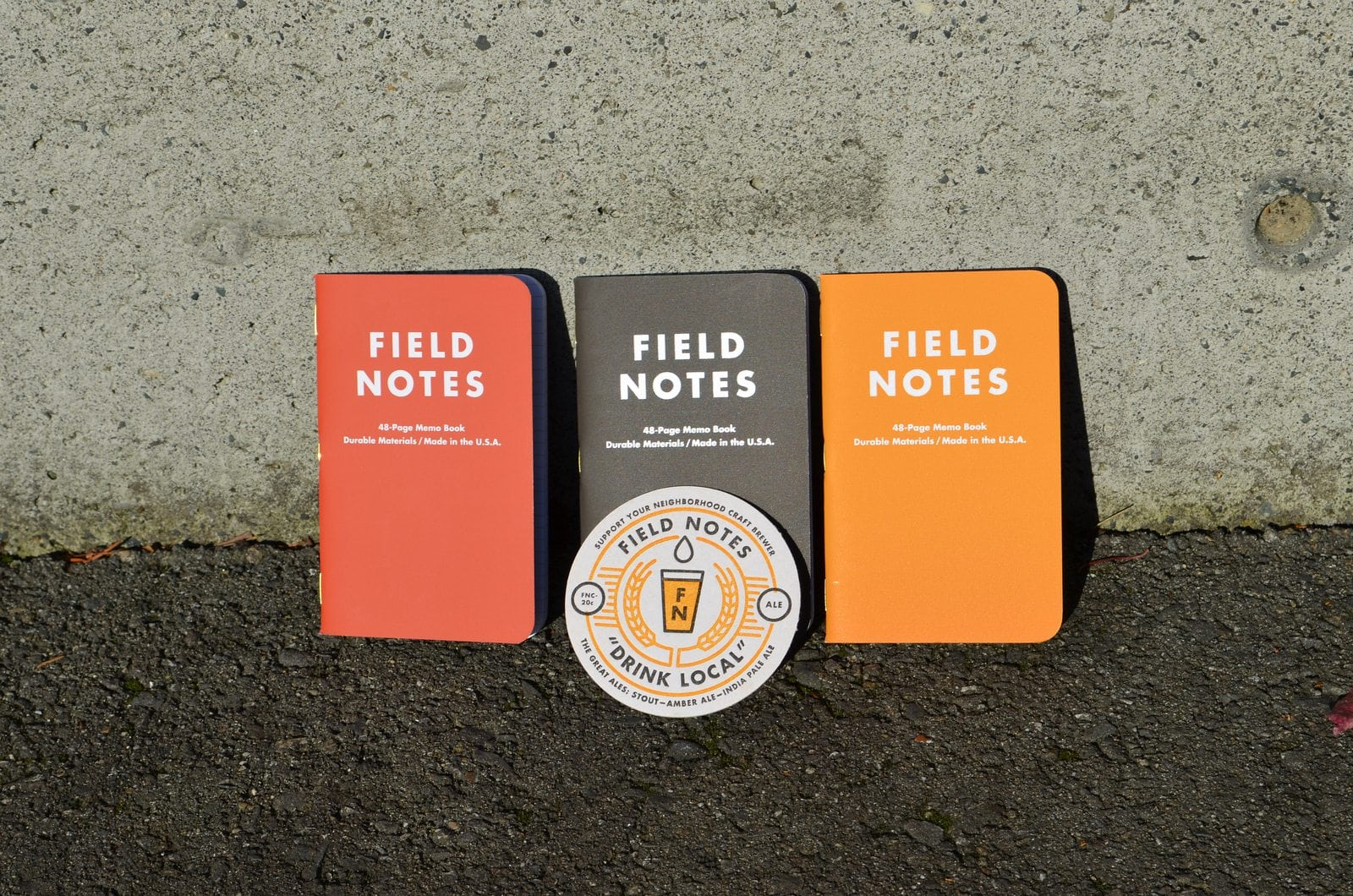 Field Notes Drink Local Ales
