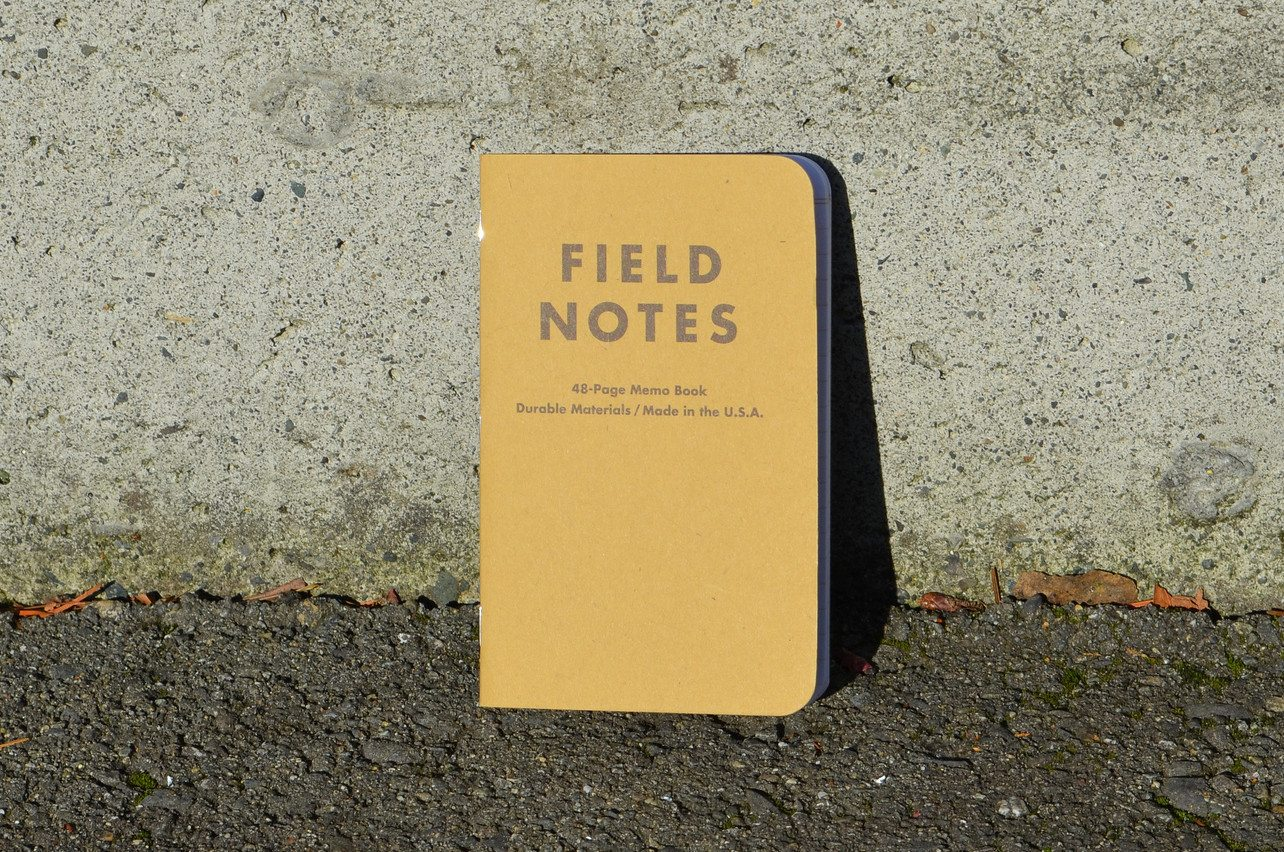Field Notes Kraft Ruled Front