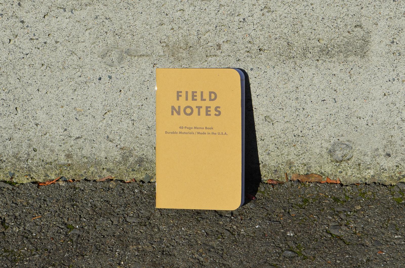 Field Notes Kraft Ruled Paper