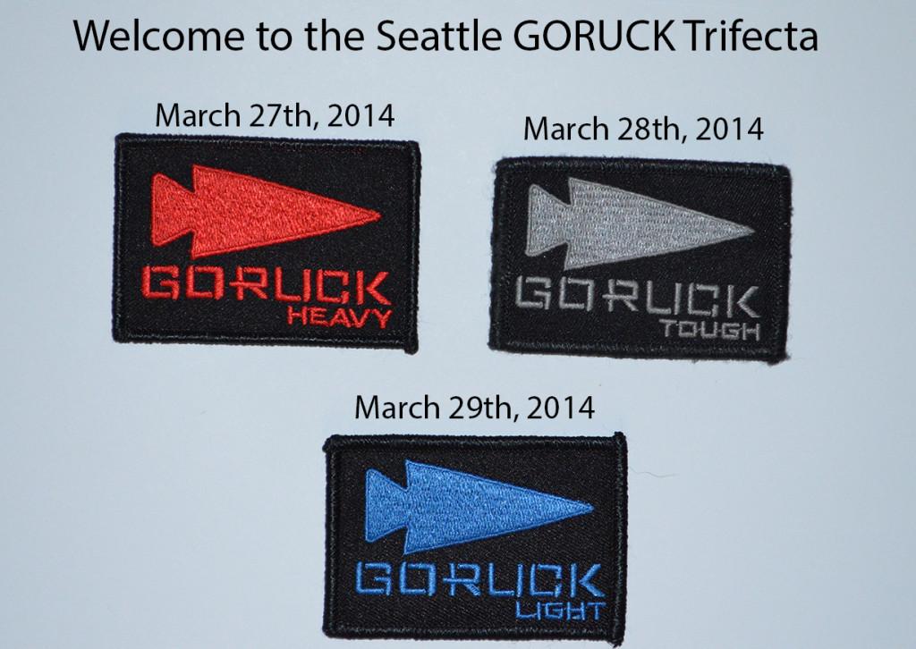 GORUCK Trifecta