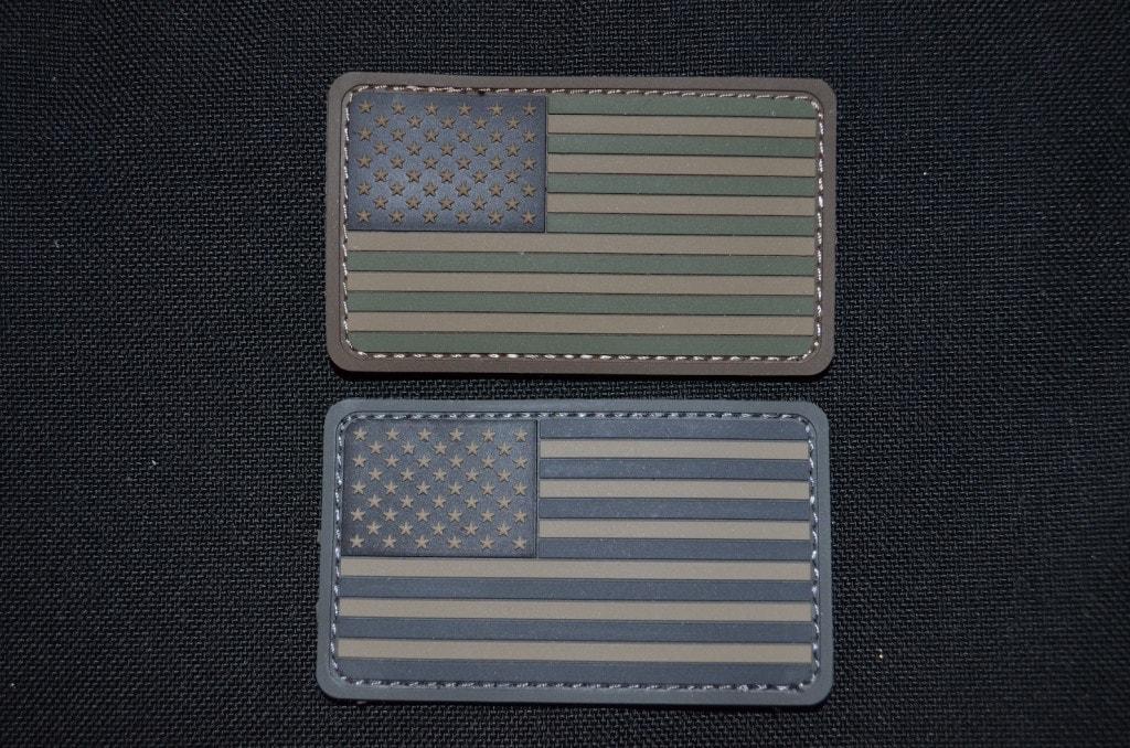US Flag PVC Patches