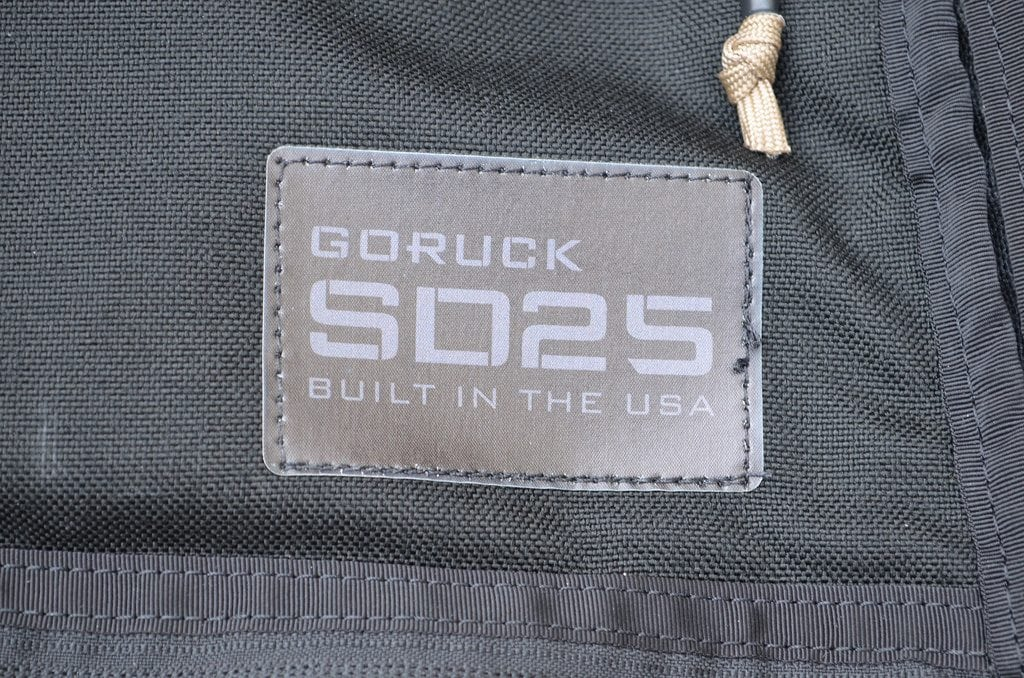 GORUCK SD 25 Sewn Logo