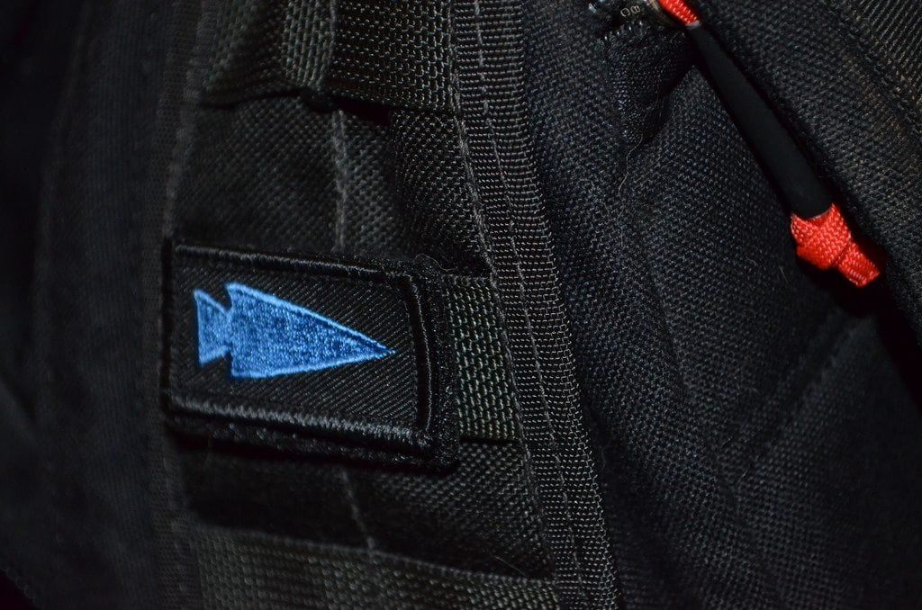 RuckWorks PatchPALS - Blue Spearhead