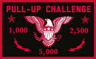 Pull-Up Challenge Eagle Patch