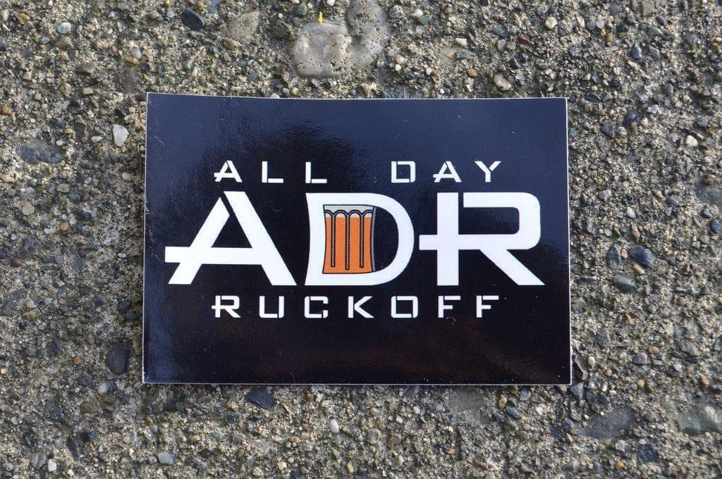 ADR Logo Sticker