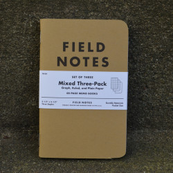Field Notes Mixed - Front