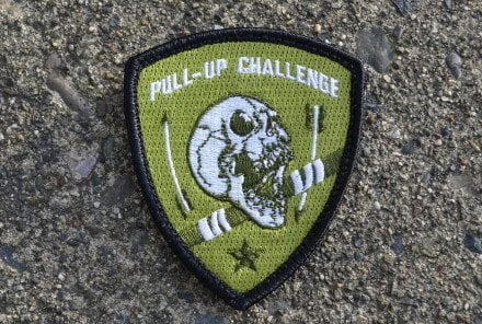 Pull-Up Challenge Shield Patch