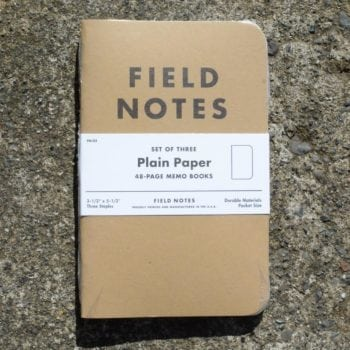 Field Notes Kraft Plain Paper (3 Pack)