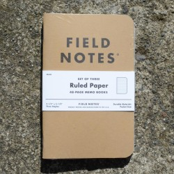 Field Notes Ruled Paper