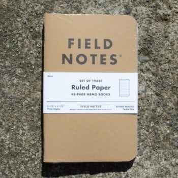 Field Notes Kraft Ruled Paper (3 Pack)