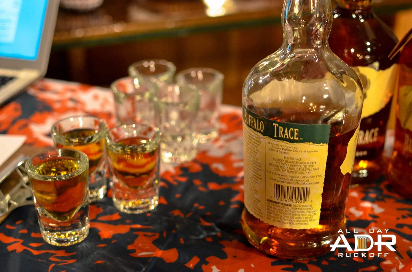 HCL 001 Ruckoff - Burbon Shots
