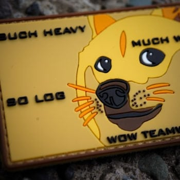Doge Ruck Patch