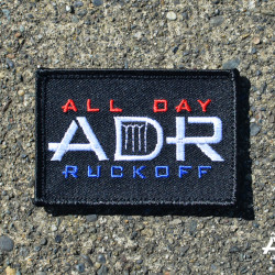 All Day Ruckoff RWB Patch