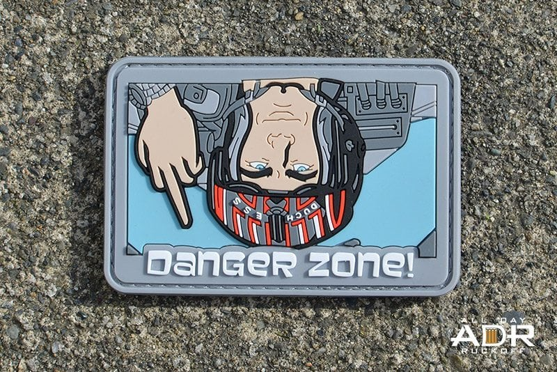 Archer Danger Zone (Airplane Grey)