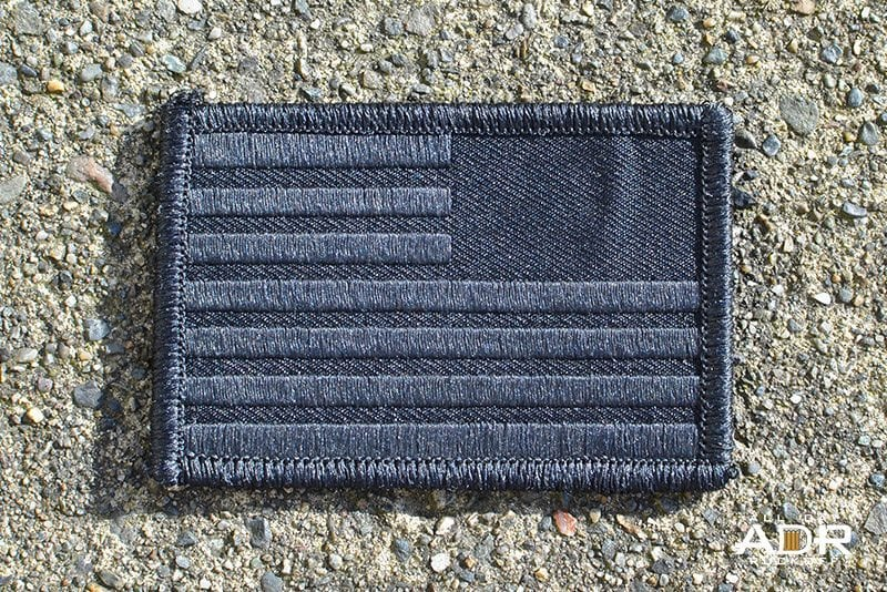 GORUCK Reverse Flag (Black)