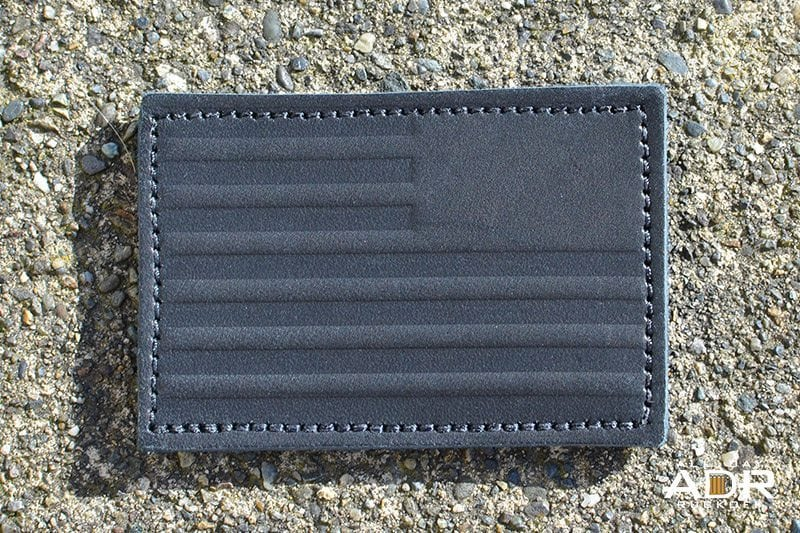 GORUCK Reverse Flag Leather (Black)