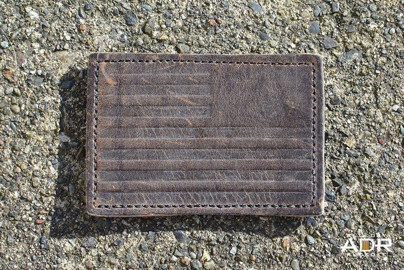 GORUCK Reverse Flag Leather (Brown)