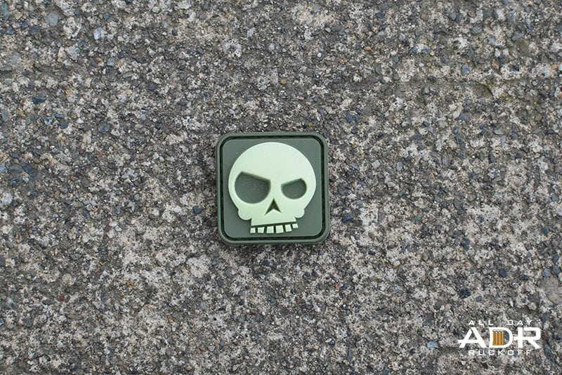 Mean T-Skull Ranger Eye (OD Green)