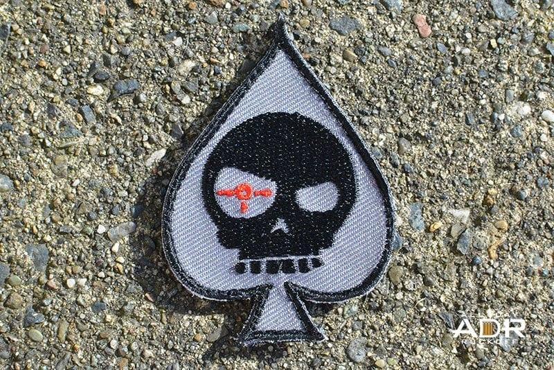 Mean T-Skull Spade