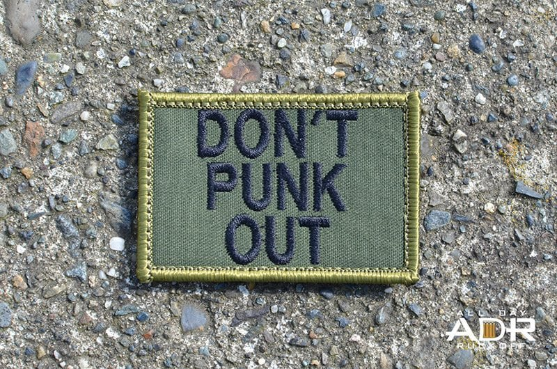 Don't Punk Out (Green)