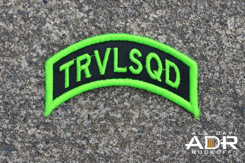 TRVLSQD Tab (Green)