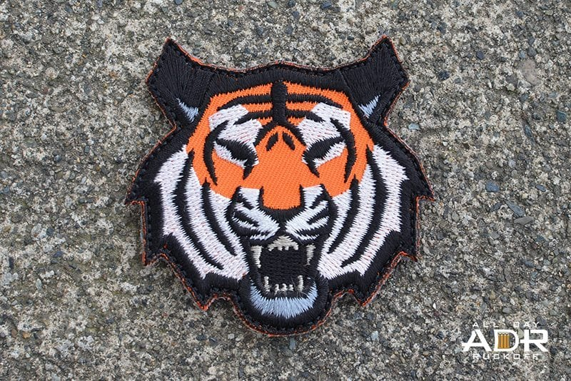 Tiger Head (Full Color)