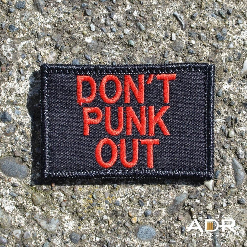 Don't Punk Out (Red)